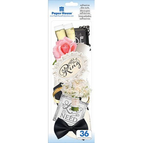 WEDDING DIE CUT STICKERS