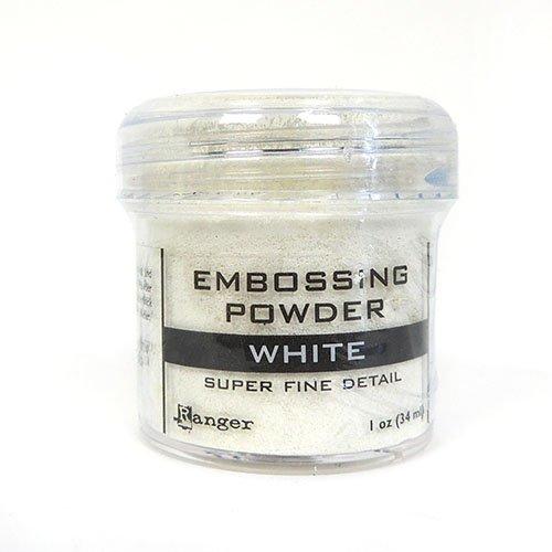 WHITE SUPER FINE EMBOSSING POWDER