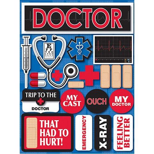 DOCTOR 3D STICKER
