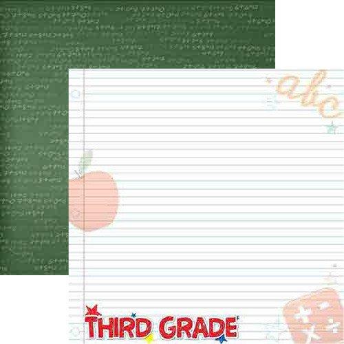 THIRD GRADE 12X12 MTG PAPER