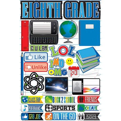 EIGHTH GRADE 3D STICKER