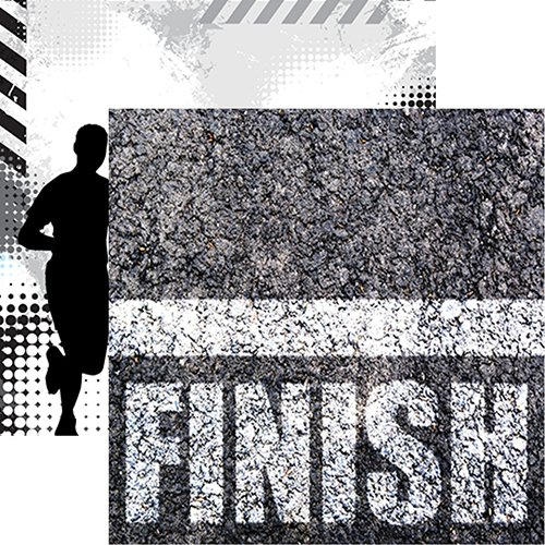 THE FINISH LINE 12X12 PAPER