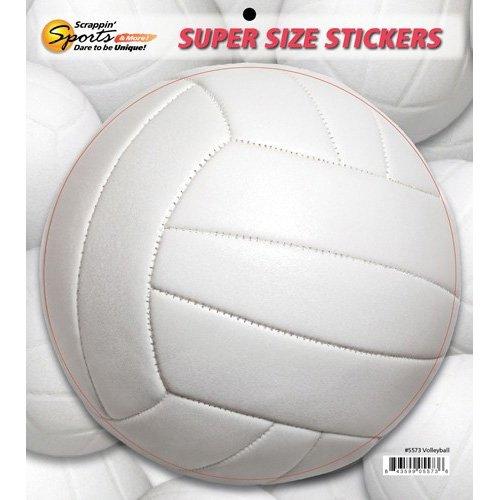 VOLLEYBALL SUPER SIZE STICKER