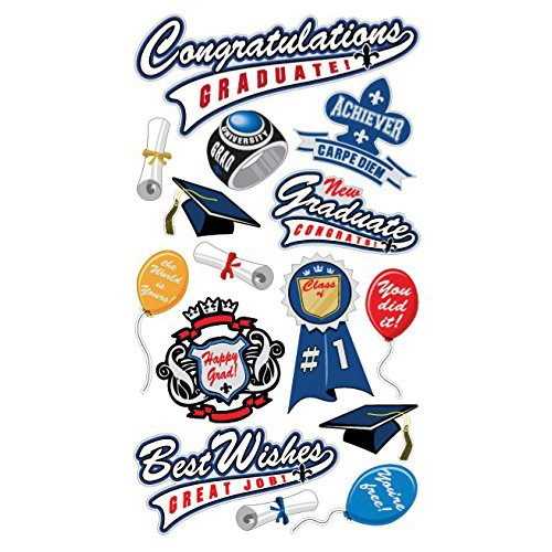 CONGRATULATIONS GRAD STICKER