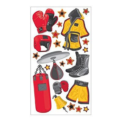 BOXING GEAR STICKERS