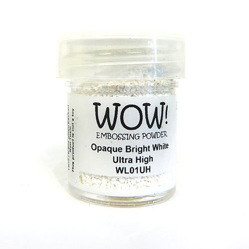 OPAQUE BRIGHT WHITE ULTRA HIGH EMBOSSING POWDER