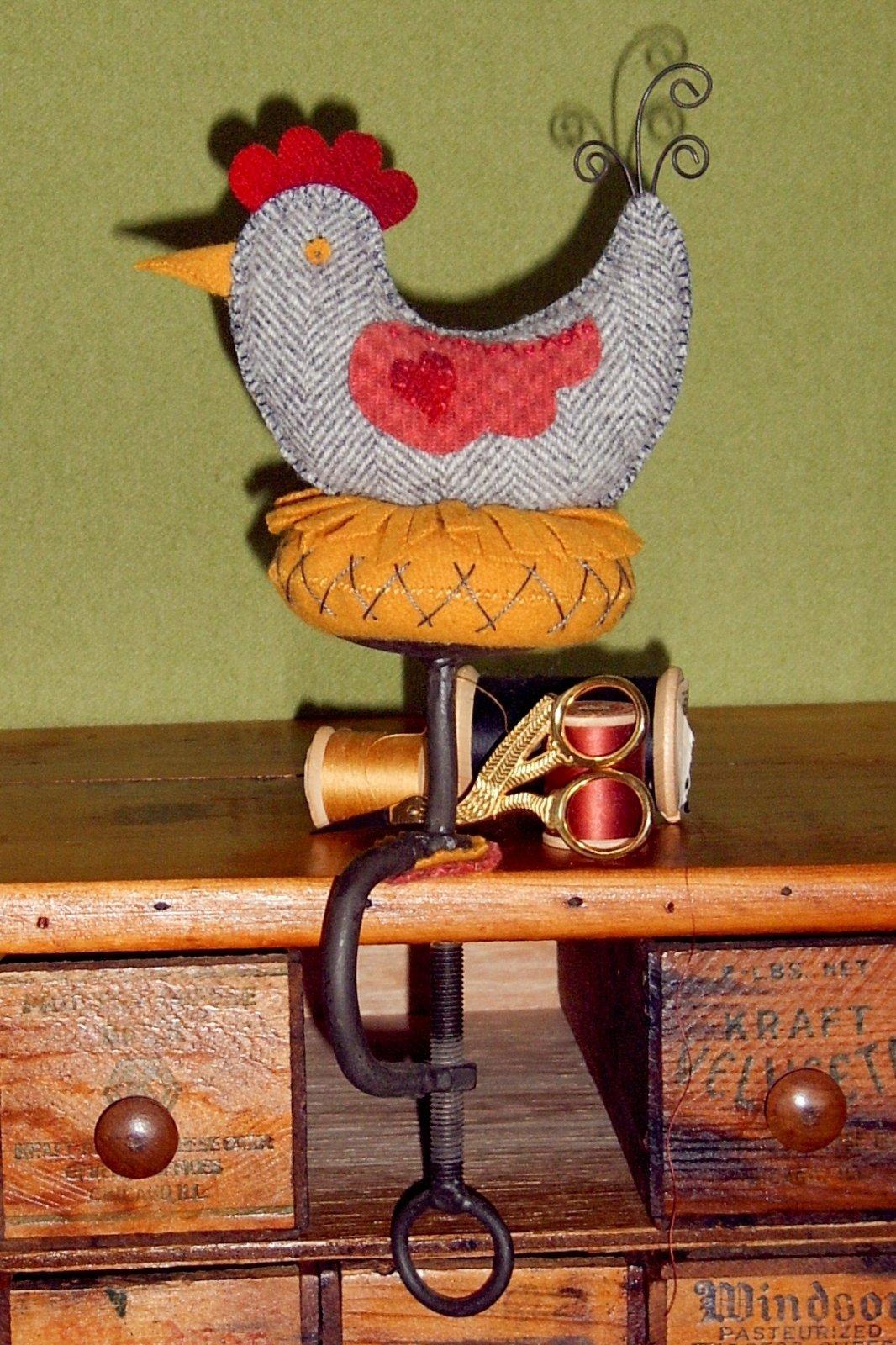Gray Speckled Hen Kit by Bird Brain Designs