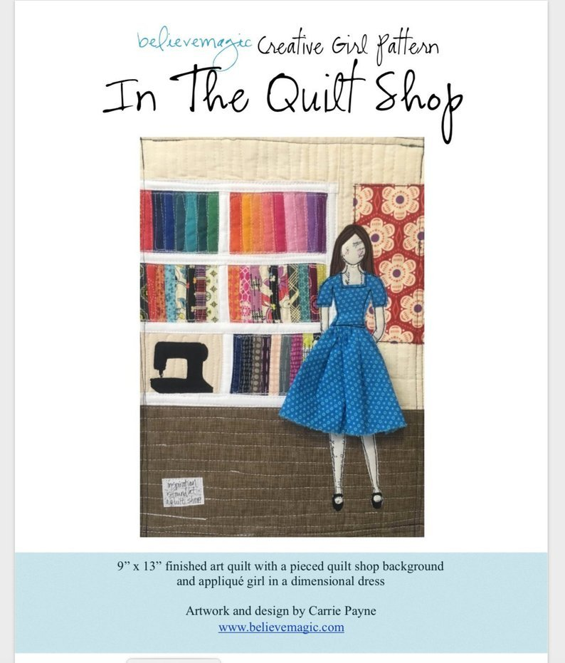 In The Quilt Shop Kit by Believe Magic