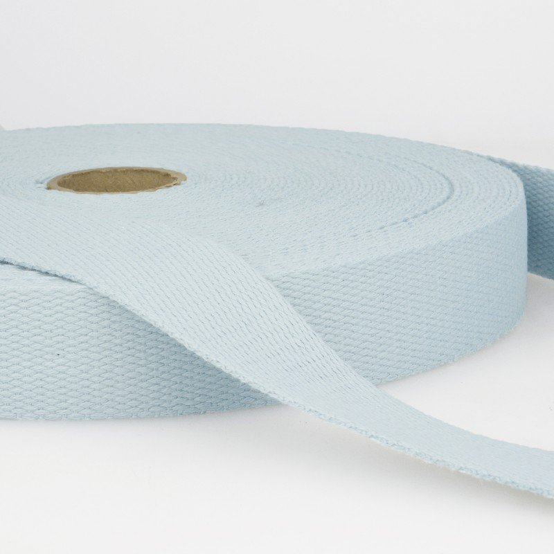 Webbing Cotton/Poly 2 in.- Light Blue by La Stephanoise (France)