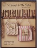 Mommy Me Totes by Renee Plains embroidered tote kit