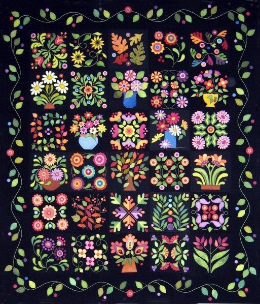 Everything s Blooming Pattern & Kit with Wool ~ comes at once!