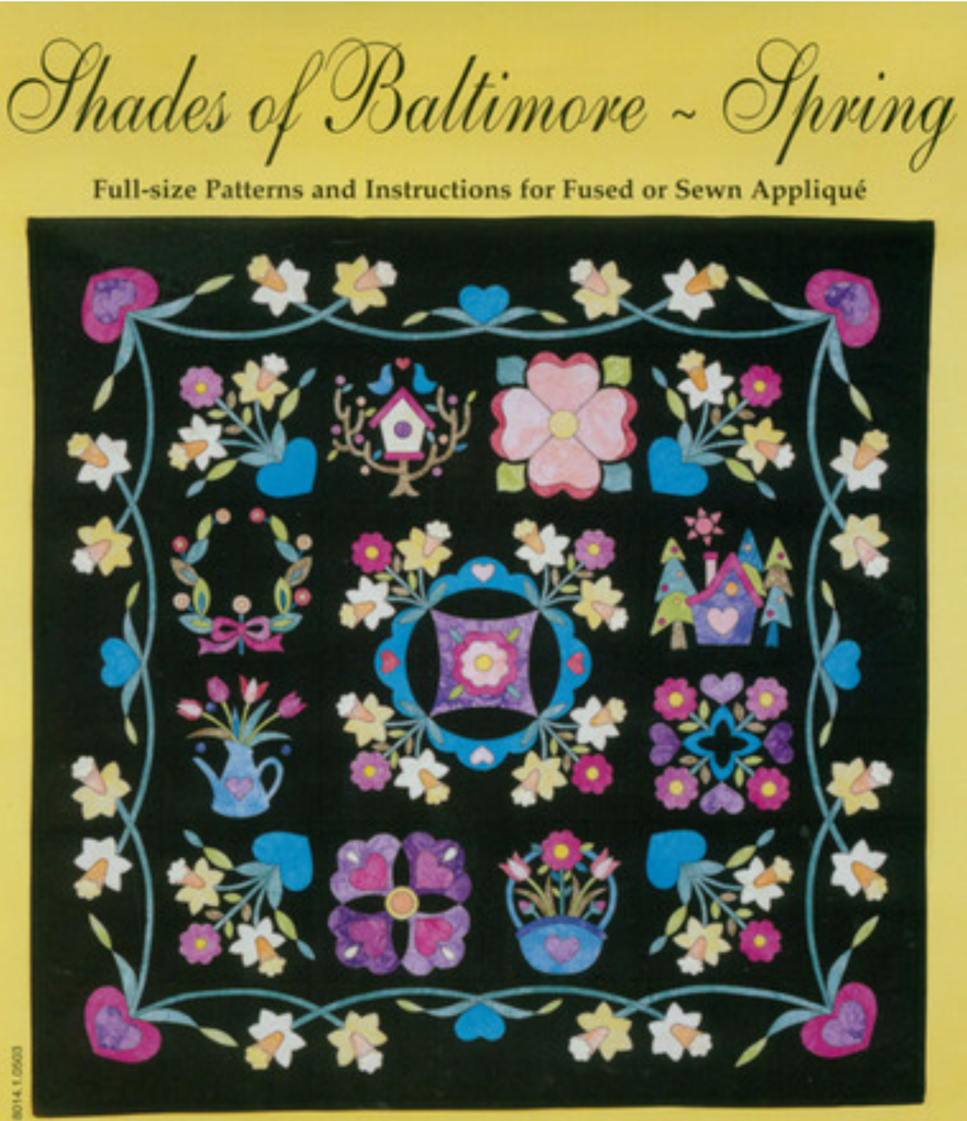 Shades of Baltimore  - Spring  Quilt Kit