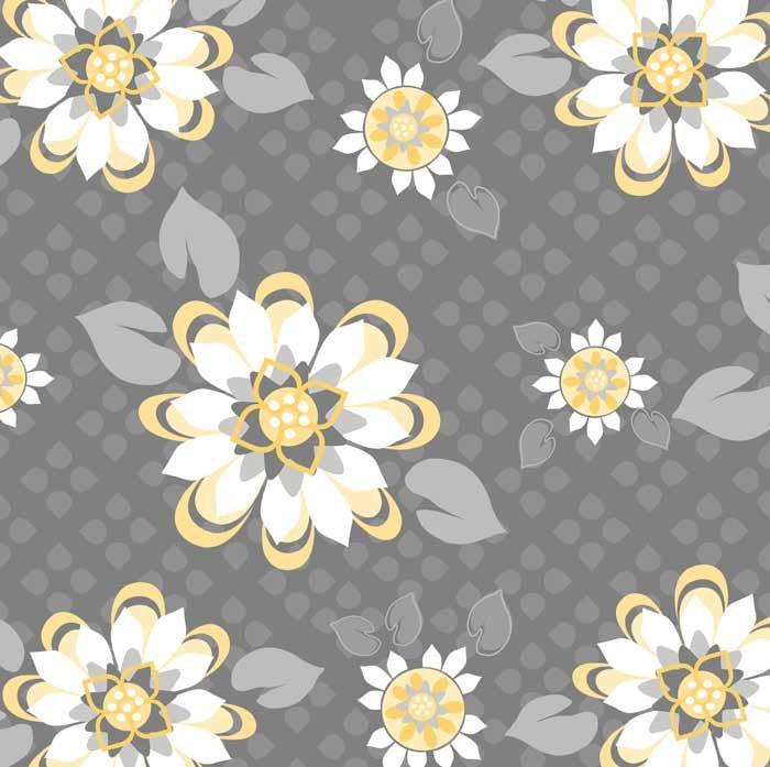 Adornit - Sunshine Blossoms Yellow T-00287