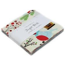 Jingle Birds Charm Pack by Keiki for Moda