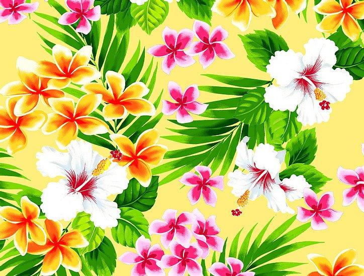 Hawaiian Yellow floral