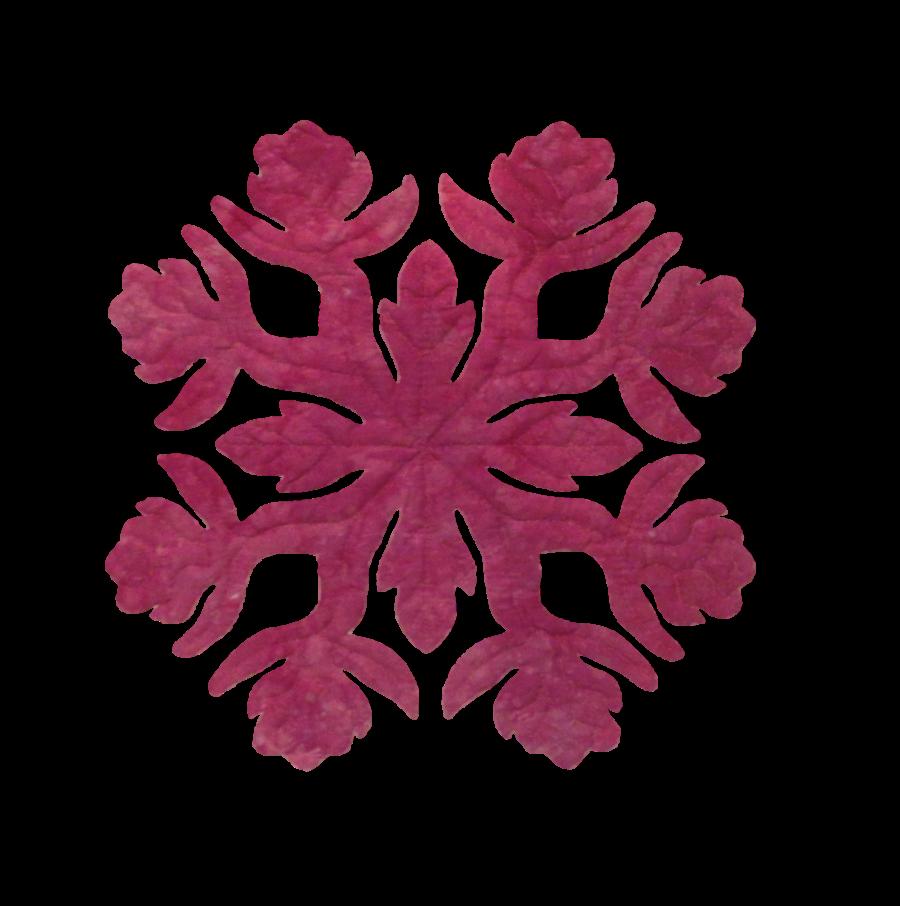 16in. Rose Hawaiian Applique