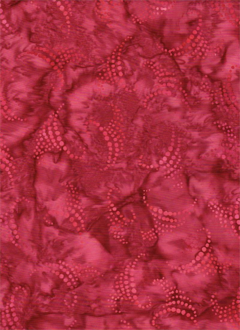 Down Under Cherry dot batik