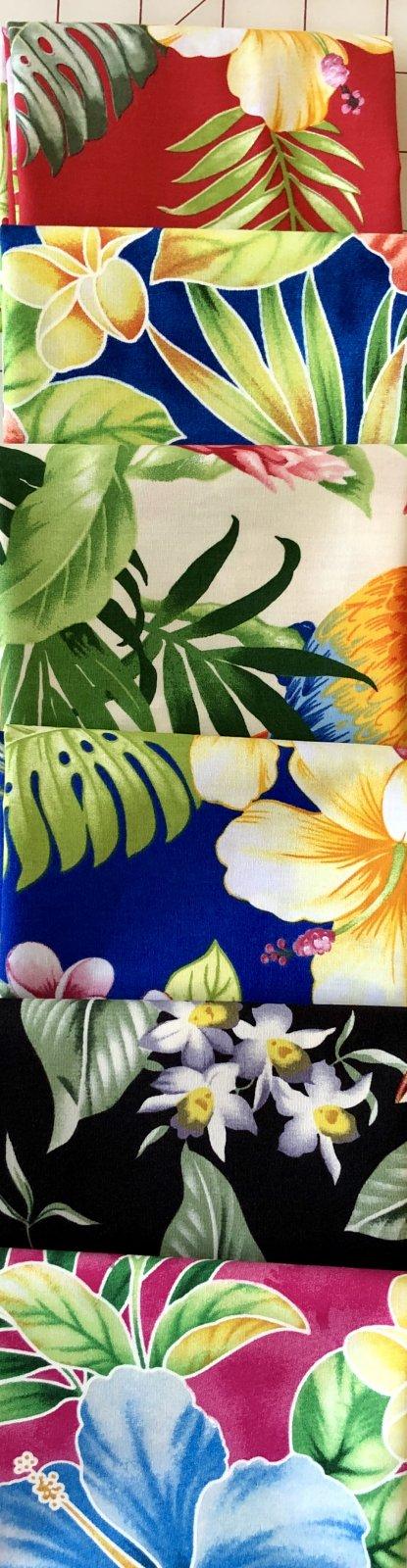 Floral Hawaiian Fat Quarter Bundle