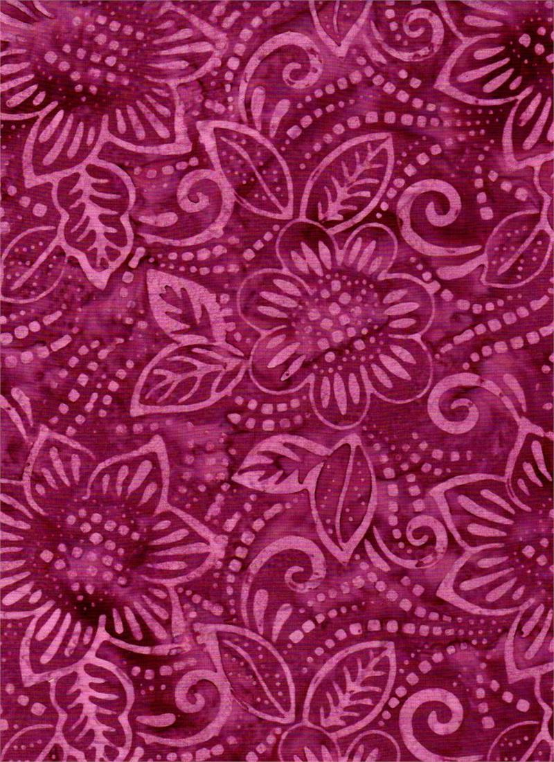 Semangka Dark Flower Watermelon Batik