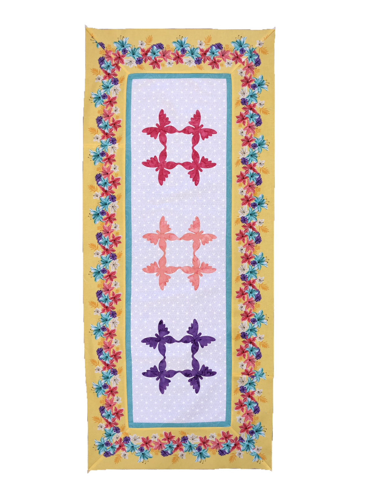 Fusible Applique Table Runner
