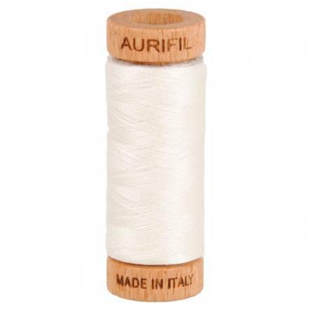 Aurifil cotton thread 80wt. Biscuit