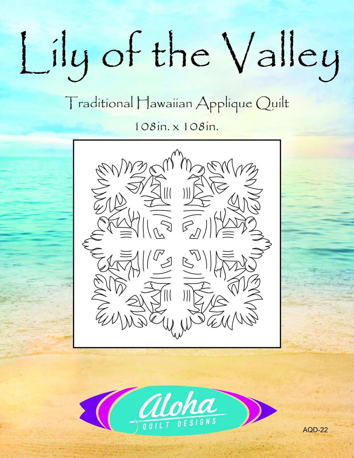 Lily Of The Valley Hawaiian Quilt