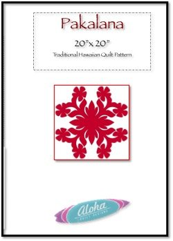 Pakalana Hawaiian Applique Quilt Pattern