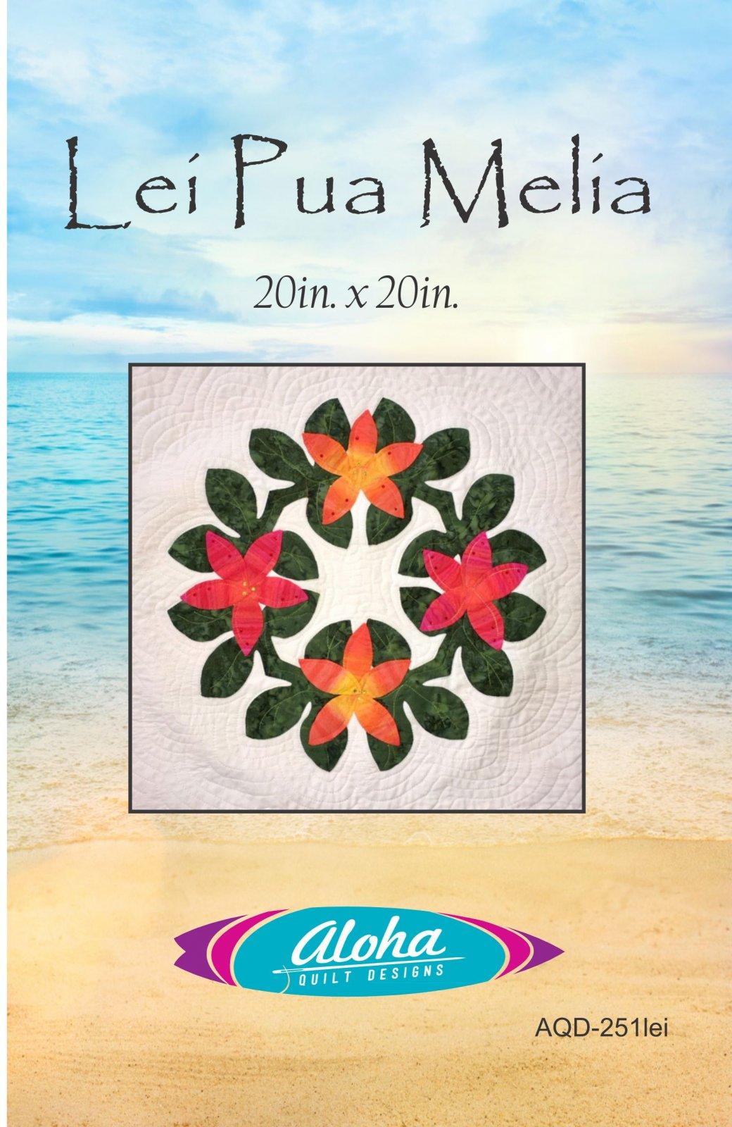 Lei Pua Melia Applique Pattern