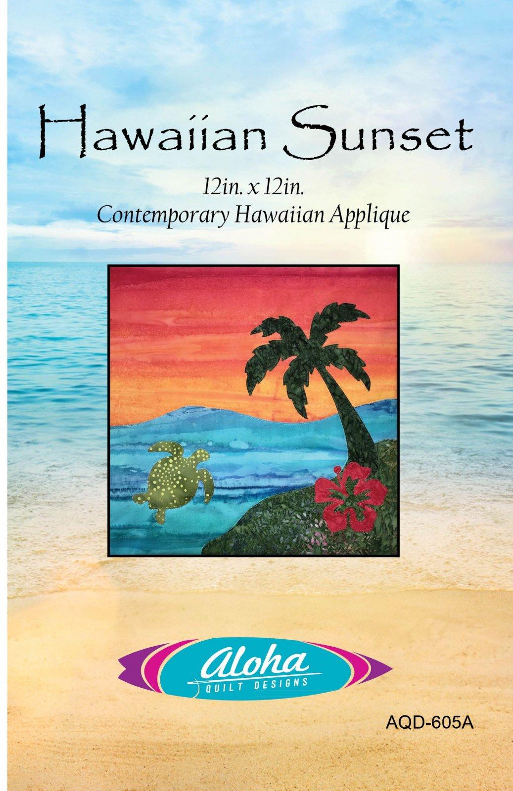 Hawaiian Sunset Quilt Pattern
