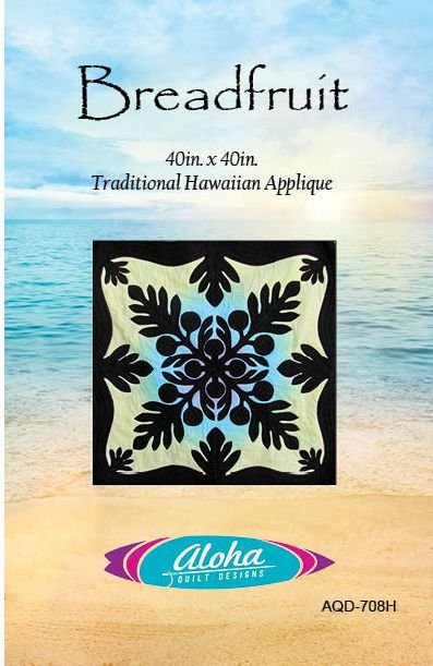 Breadfruit Hawaiian Applique Pattern