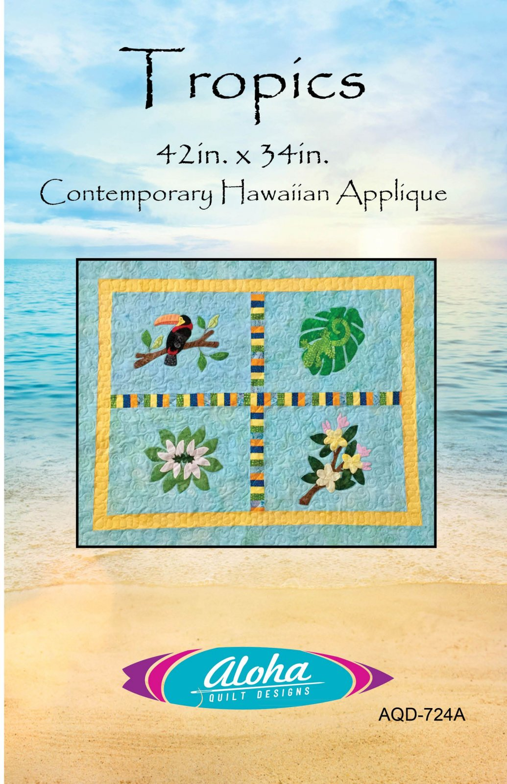 Tropics Applique Quilt
