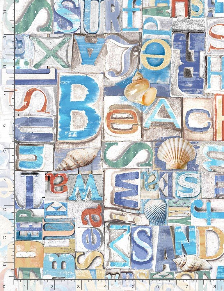 Beach Day Beachy Words on Wood
