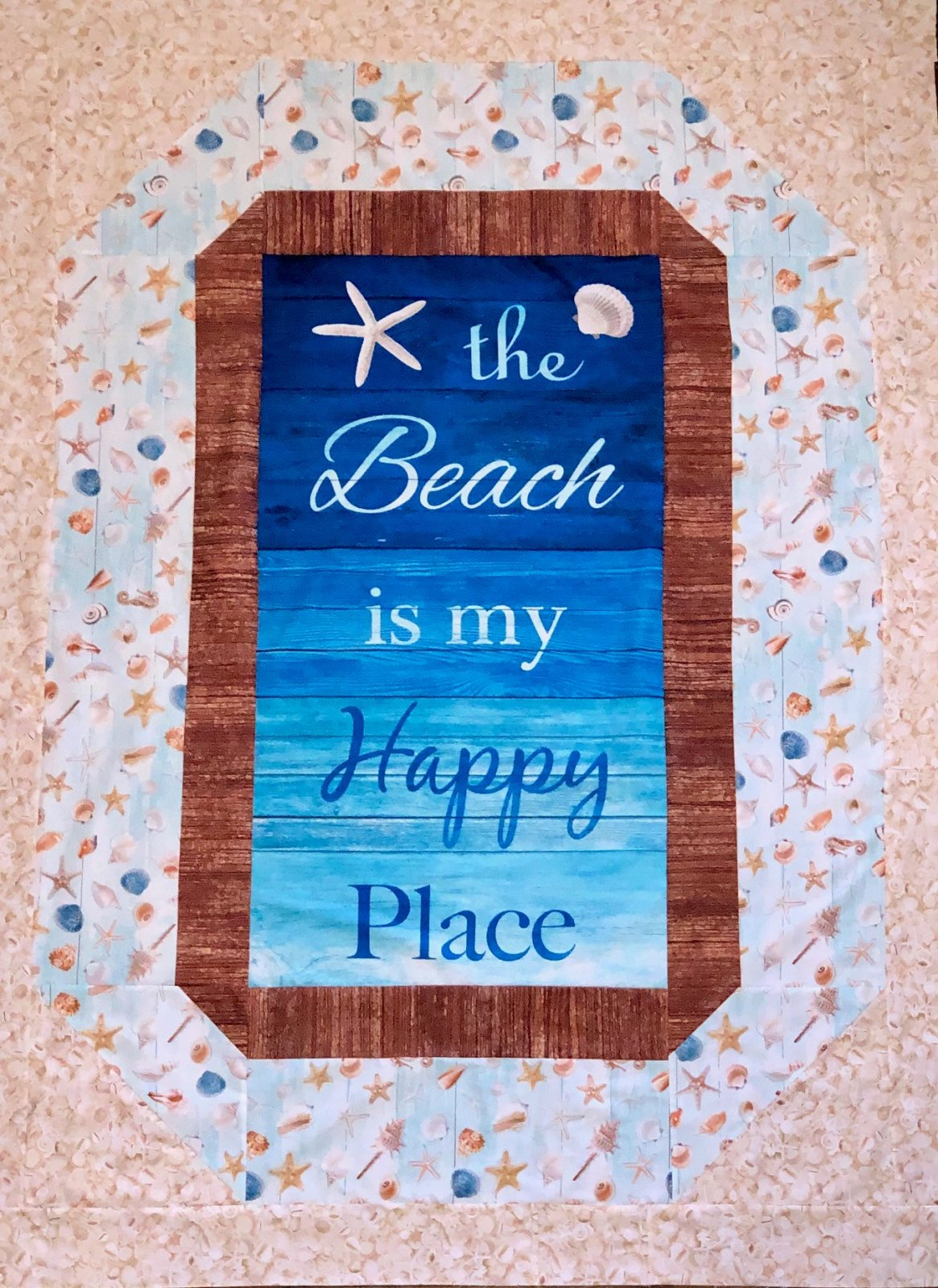 Happy Beach Blanket Quilt Kit
