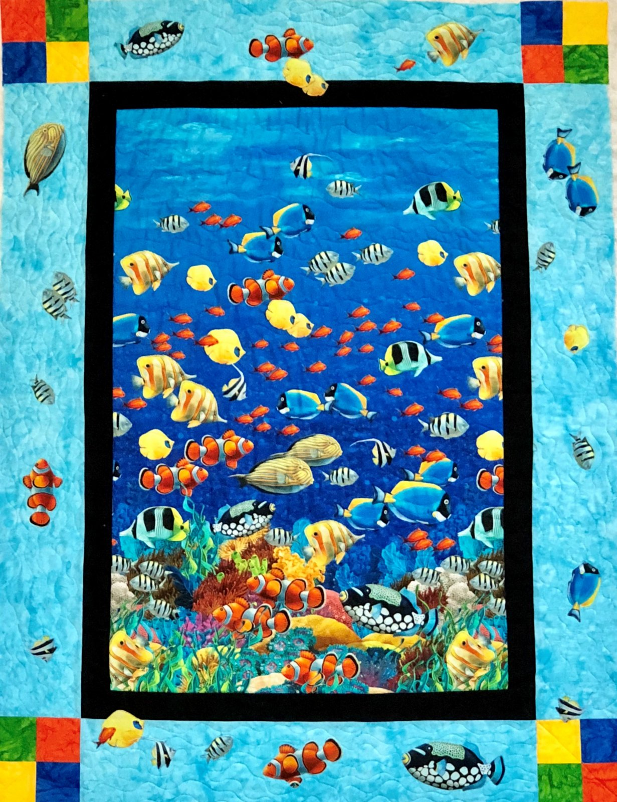 Coral Reef Quilt Kit