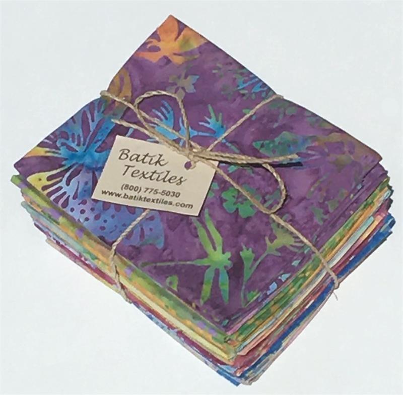 Color Me Happy Batik Fat Quarter Bundle