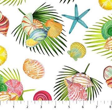 Island Sun Seashell Toss