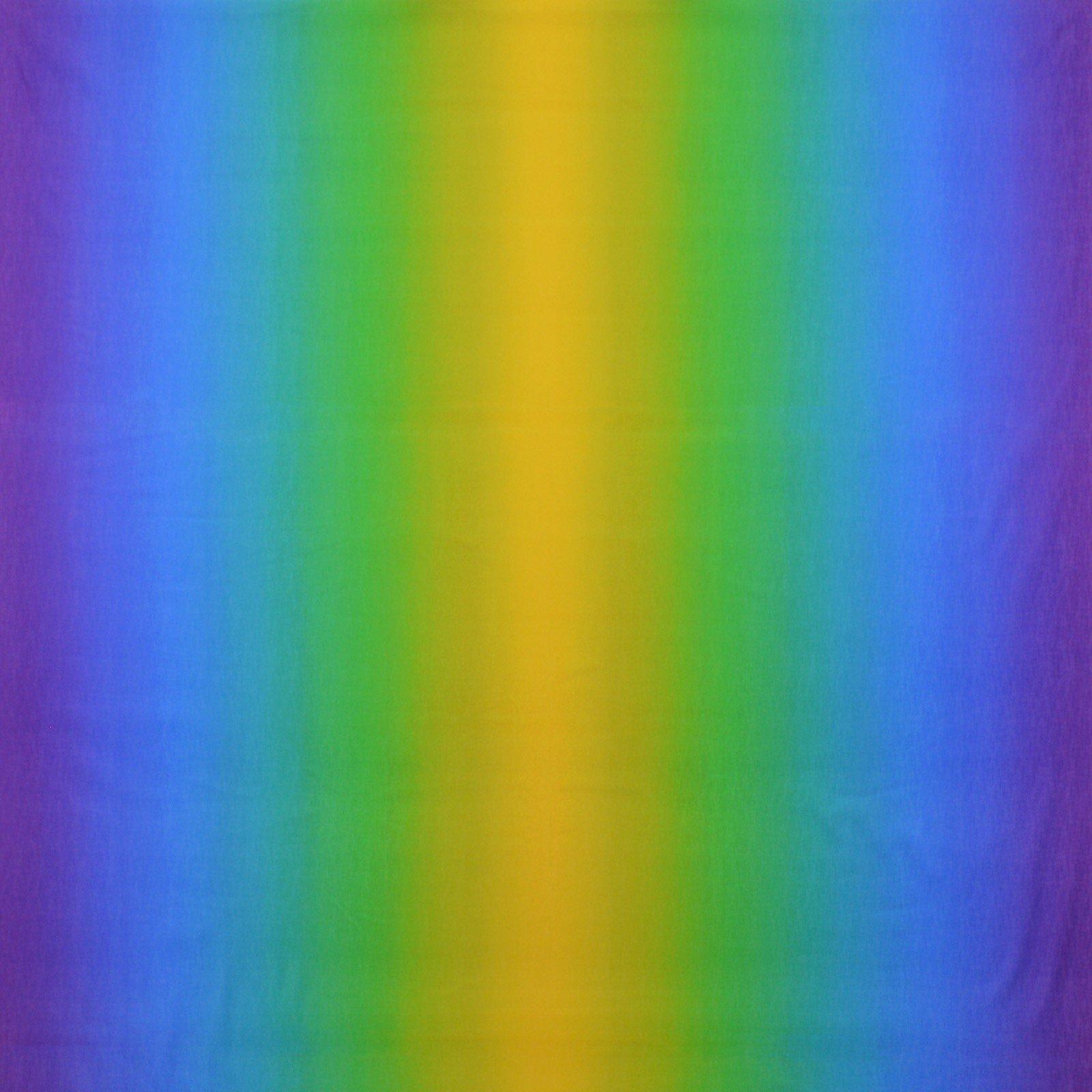 Rainbow Ombre Gelato