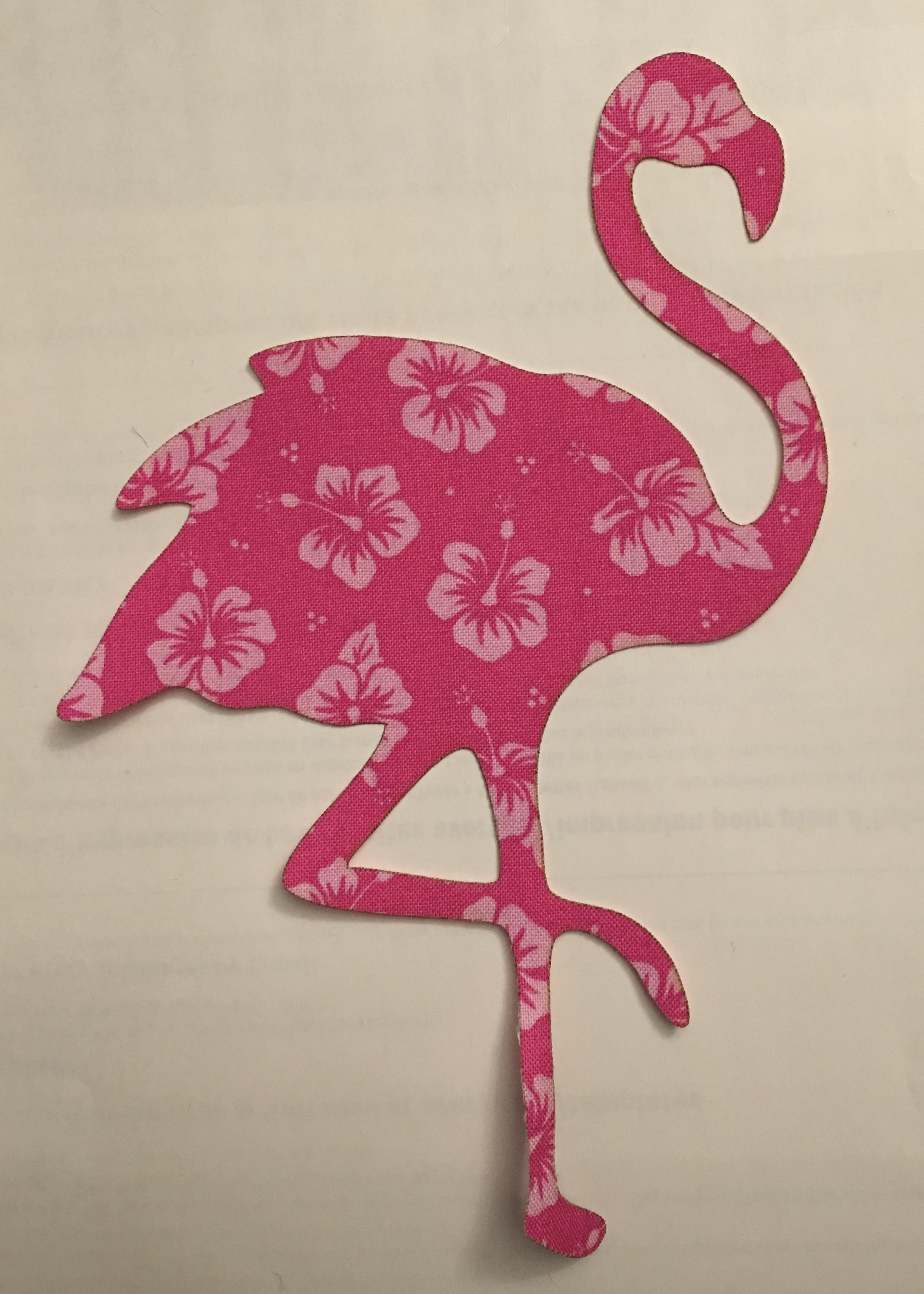 6in. Flamingo Appliques