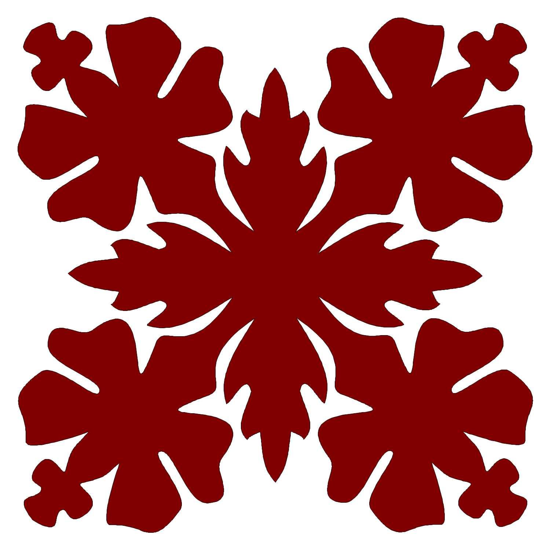 8in. Hibiscus Hawaiian Applique