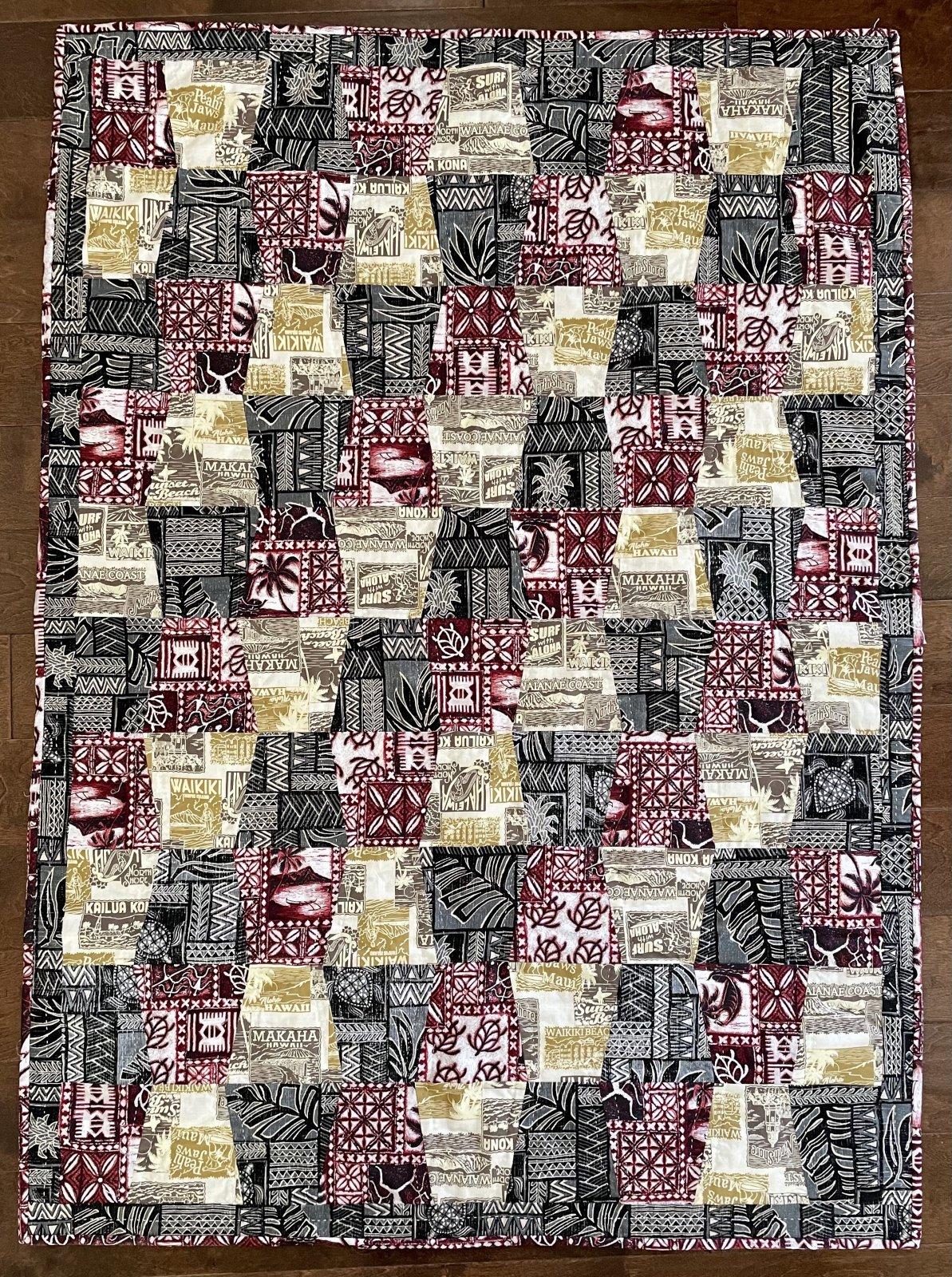 Hawaiian Pre-cut Tumbler Quilt Kit