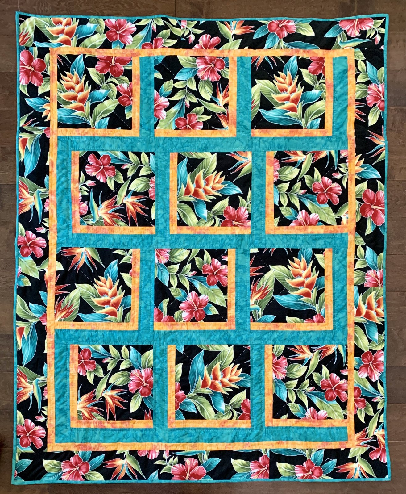 Honolulu Quilt Pattern