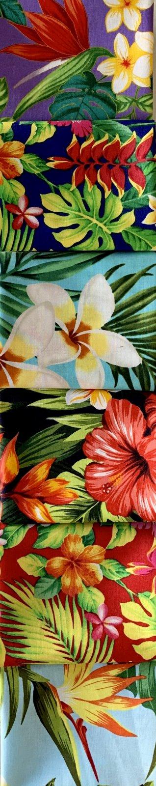 Hawaiian Print Fat Quarter Bundle 2