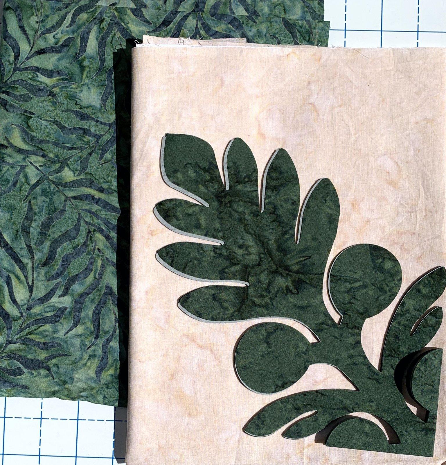 Breadfruit Hawaiian Fusible Applique Kit 1