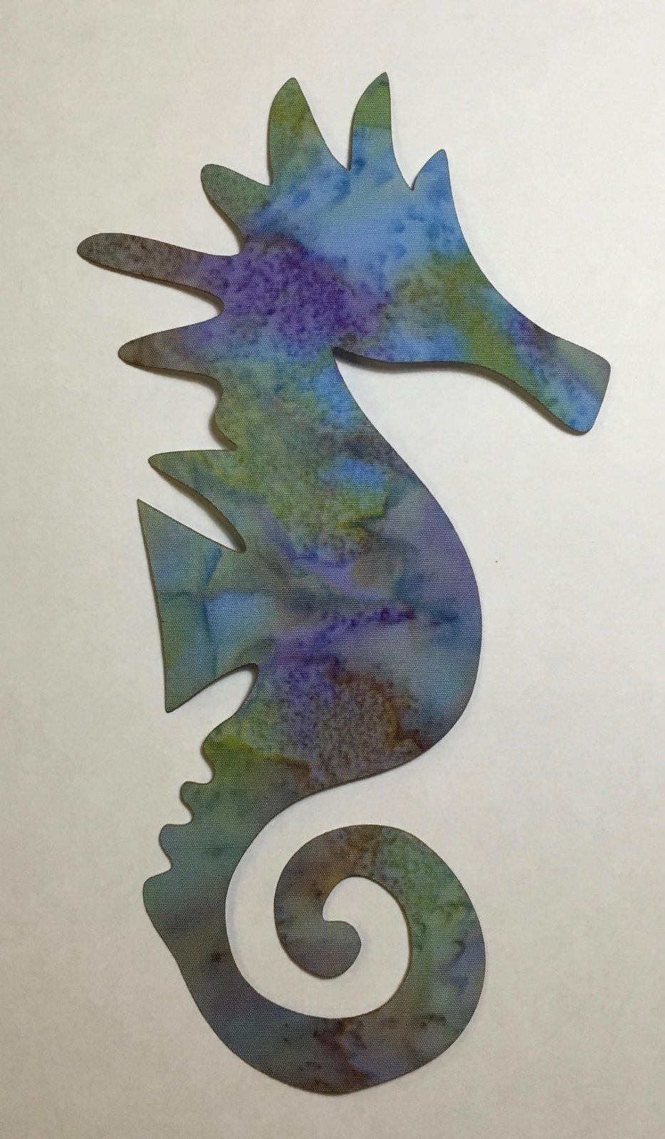 6in. Laser Cut Seahorse Applique's