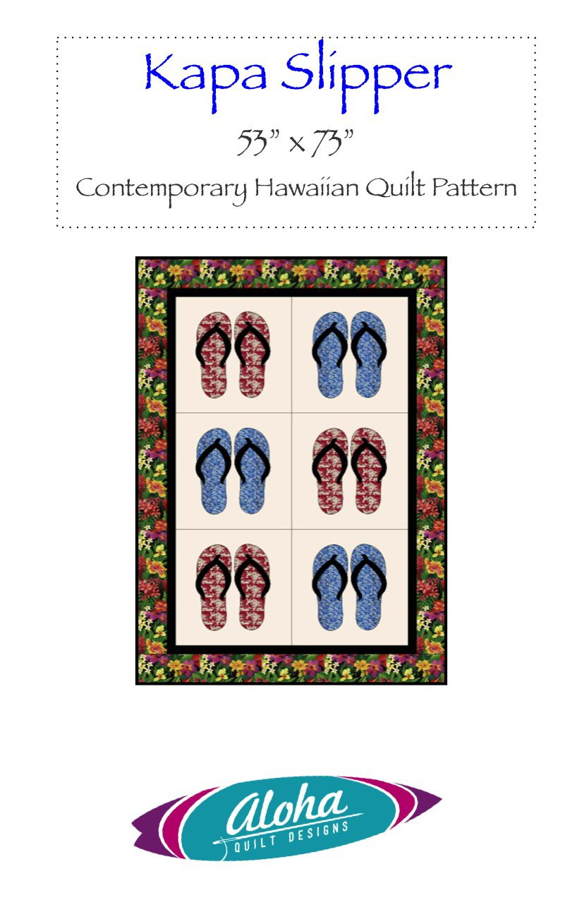 Kapa Slipper Quilt Pattern