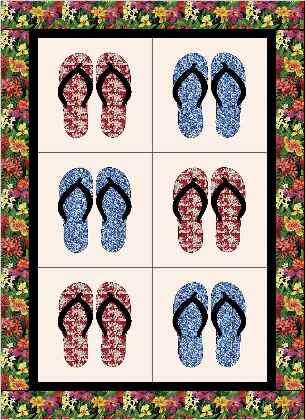 Kapa Slipper Quilt Kit