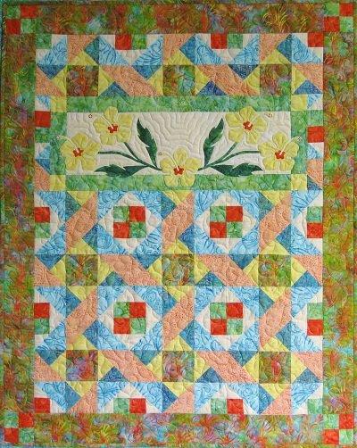 Hibiscus Paradise Quilt Pattern