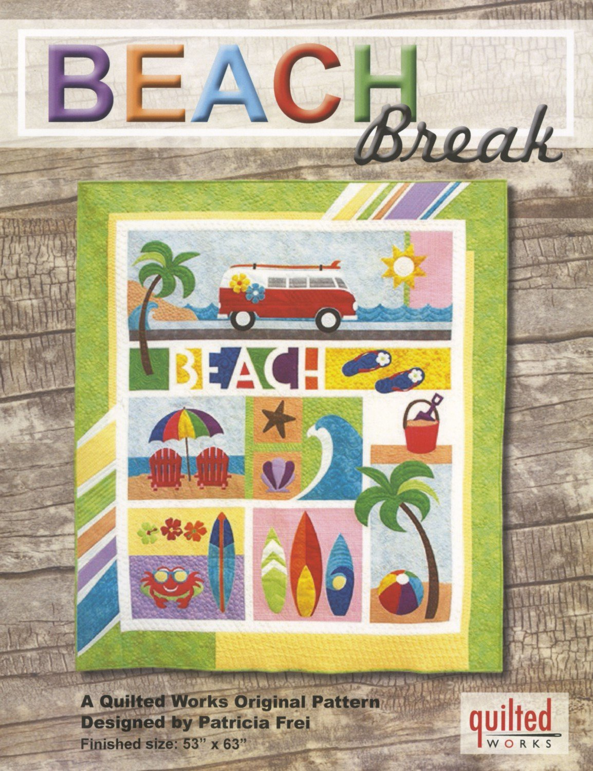 Beach Break Quilt Pattern