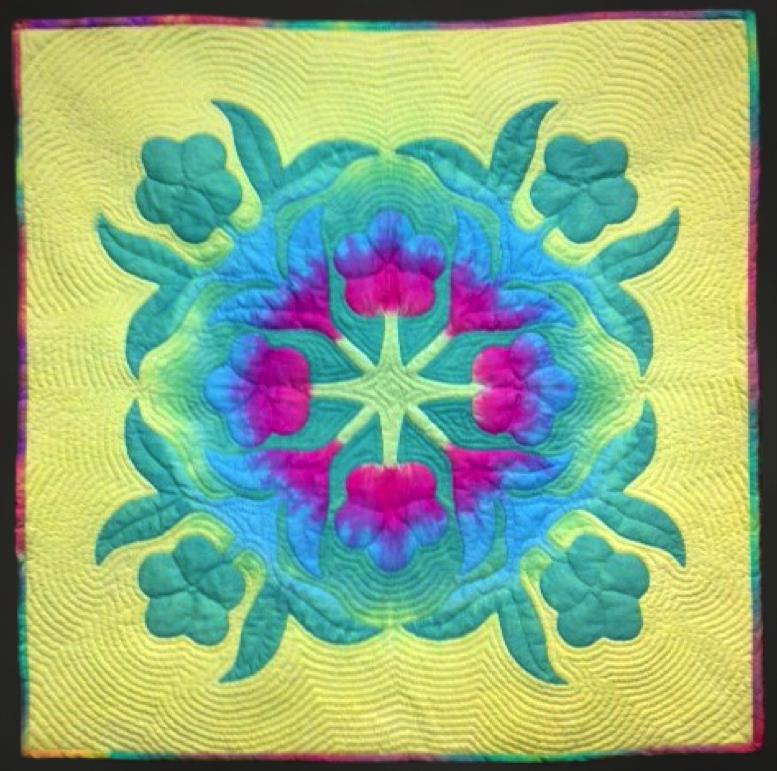 Pua Melia - Hawaiian Applique Pattern