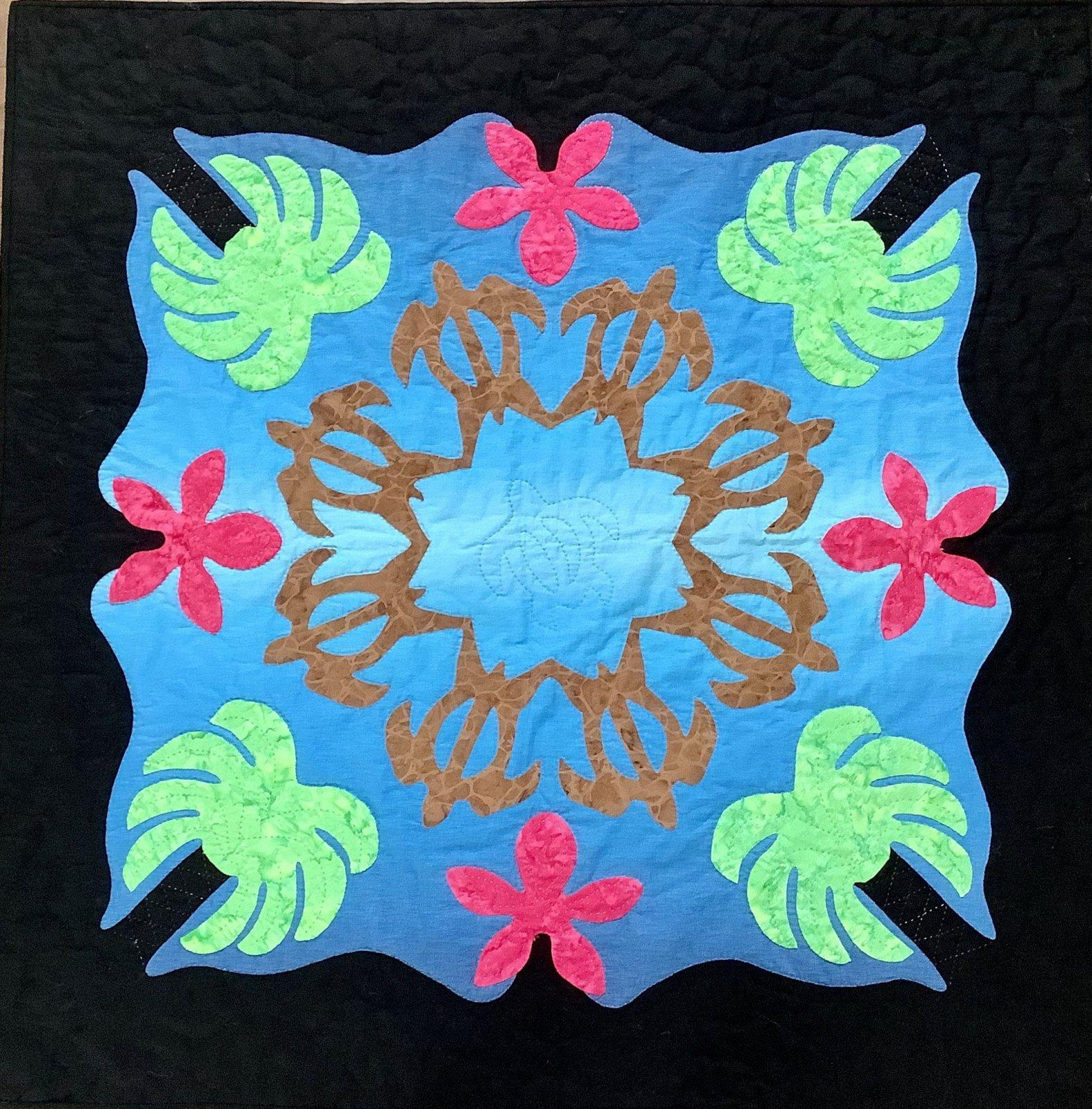 Coastal 2 Hawaiian Quilt